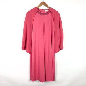Badgley Mischka Dresses - NWT American Glamour by Badgley Mischka Cape Dress